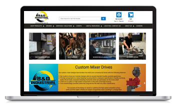 B&D Industrial launches new ecommerce site with the help of Unilog