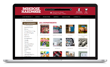 Parkrose hardware launches new ecommerce site with the help of Unilog