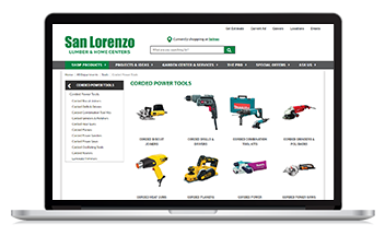 San Lorenzo launches new ecommerce site with the help of Unilog