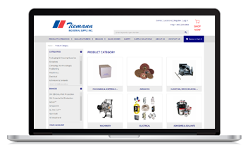 Tiemann Industrial Supply launches new ecommerce site with the help of Unilog