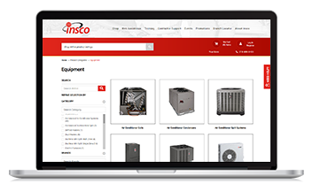Insco Distributing launched their new website with the help of Unilog