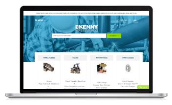 Kenny Pipe & Supply lauches new ecommerce site with the help of Unilog