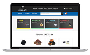Mallory launches new ecommerce site with the help of Unilog