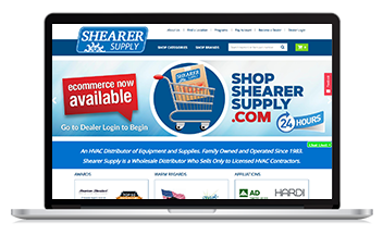 Shearer Supply lauches new ecommerce site with the help of Unilog