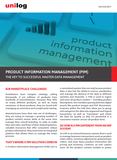 Unilog Product Information Management (PIM)