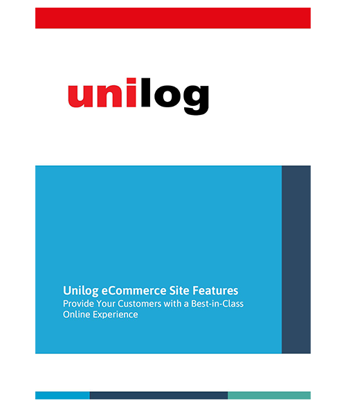 Unilog B2B eCommerce Site Features