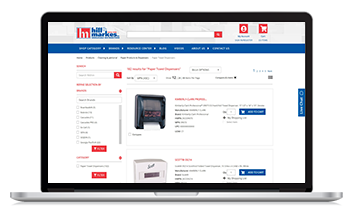 hill&markes launched their new website with the help of Unilog