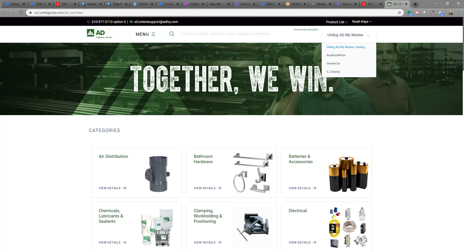 CSR portal offers a clean interface and web view to mimic an online storefront